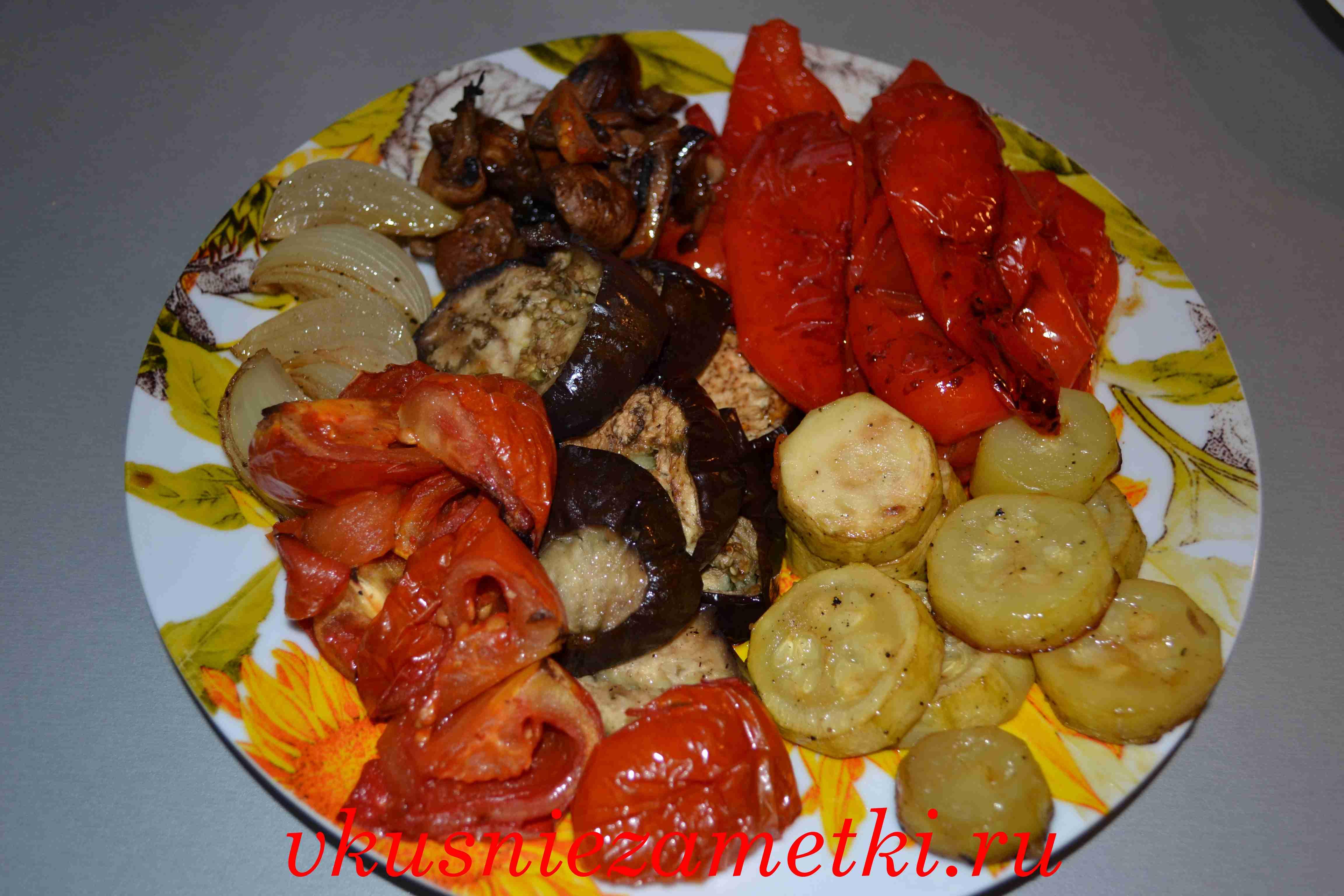 Запеченные овощи в духовке: рецепты с фото пошагово 61