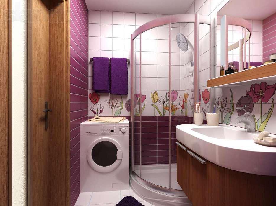 дизайн ванной комнаты фото 6 кв м с туалетом онлайн